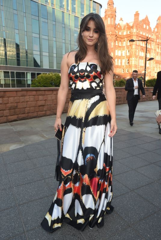 BROOKE VINCENT at Eddie Stowbart Charity Ball in Manchester 08/31/2018