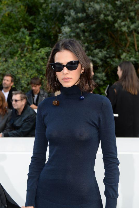 BRUNA MARQUEZINE at Jacquemus Show at Paris Fashion Week 09/24/2018