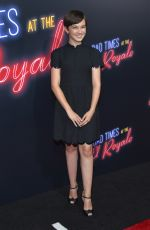 CAILEE SPAENY at Bad Times at the El Royale Premiere in Los Angeles 09/22/2018