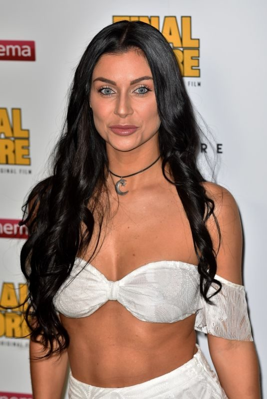 CALLY JANE BEECH at Final Score Premiere in London 08/30/2018
