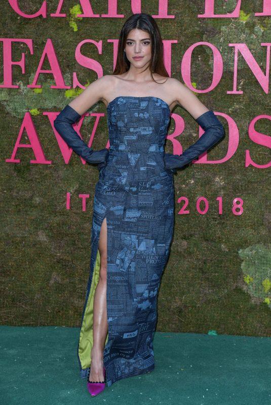 CALU RIVERO at Green Carpet Fashion Awards in Milan 09/23/2018