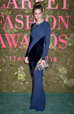 CAMERON RUSSELL at Green Carpet Fashion Awards in Milan 09/23/2018