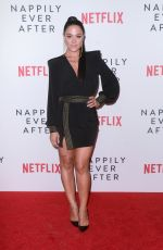 CAMILLE GUATY at Nappily Ever After Special Screening in Los Angeles 09/20/2018