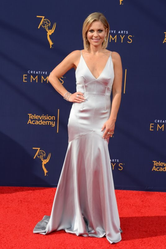 CANDACE CAMERON BURE at Creative Arts Emmy Awards in Los Angeles 09/08/2018