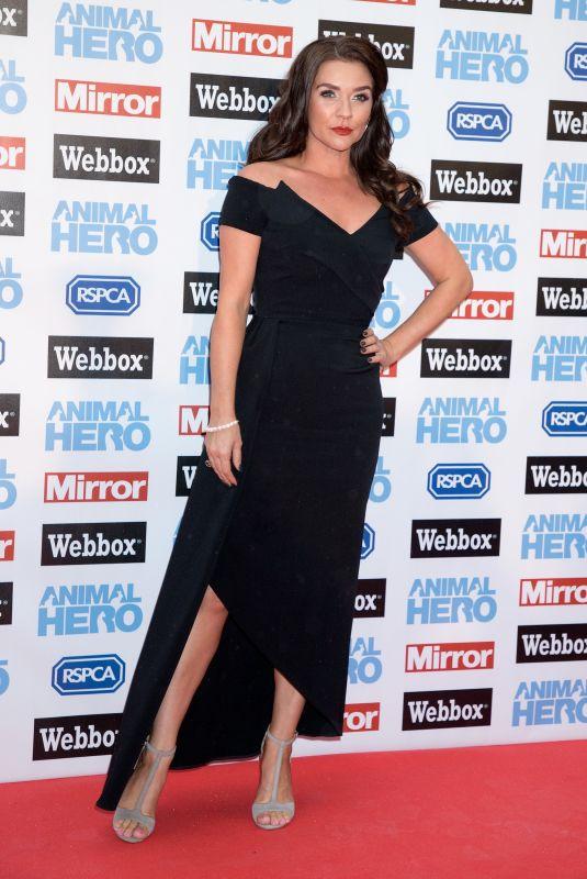 CANDICE BROWN at Animal Hero Awards in London 09/06/2018
