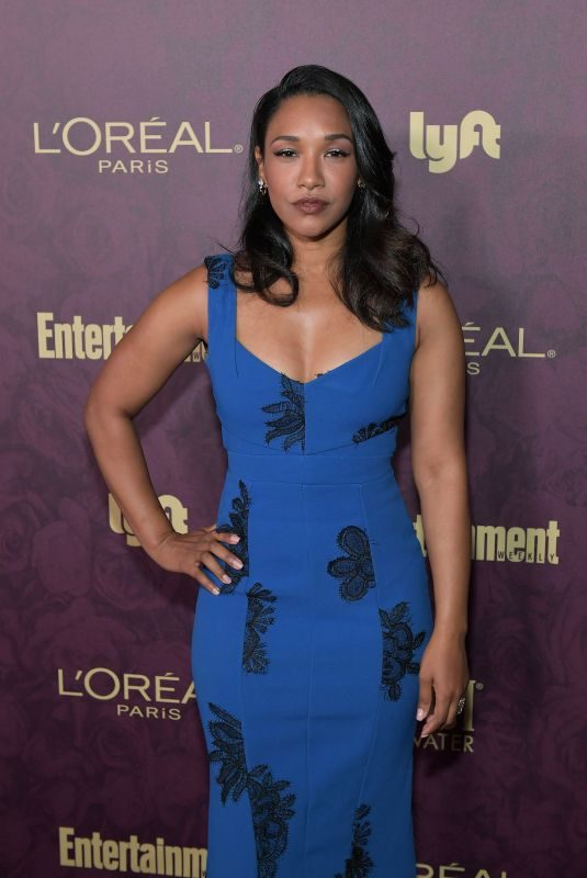 CANDICE PATTON at EW and L'Oreal Paris Pre-emmy Party in Hollywood 09/15/2018