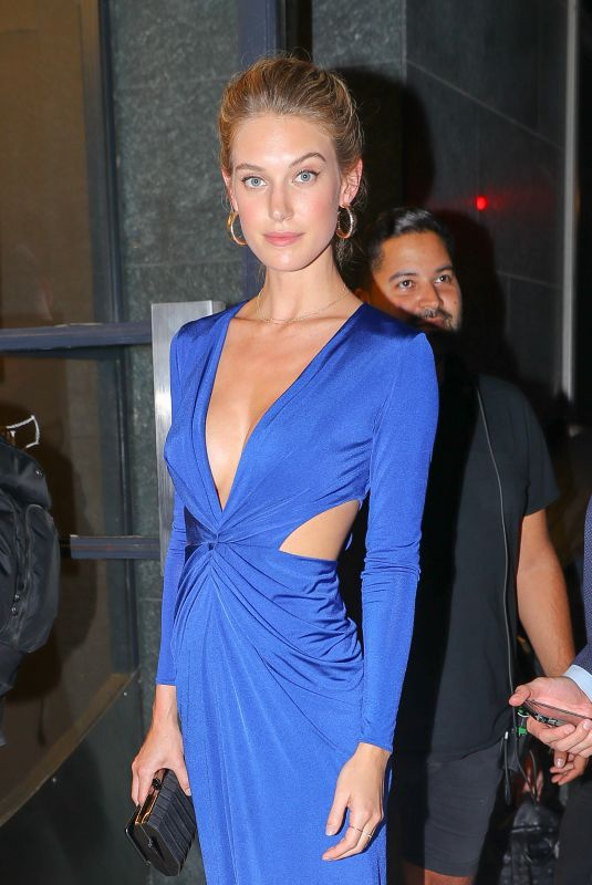 CAROLINE LOWE Arrives at Watch What Happens Live in New York 09/04/2018