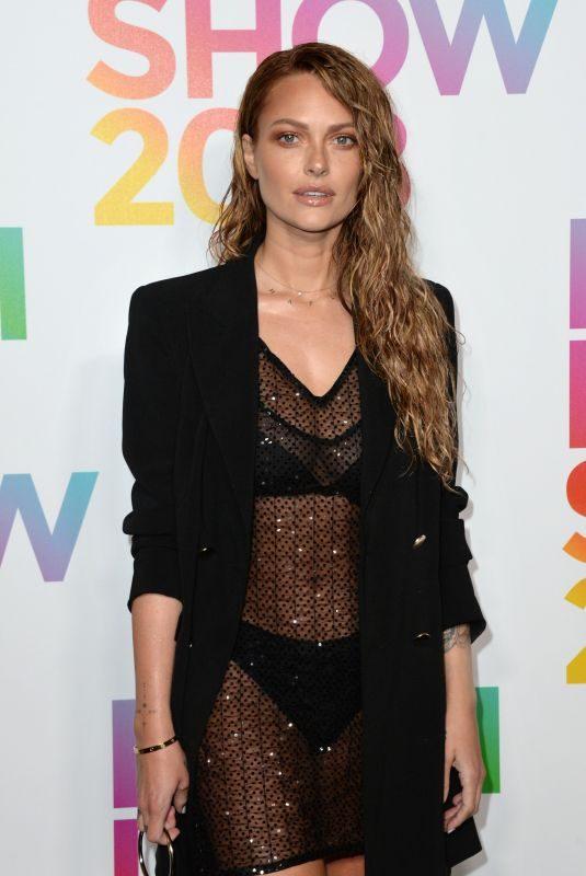 CAROLINE RECEVEUR at Etam Fashion Show at PFW in Paris 09/24/2018