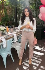 CASSIE SCERBO at Burn Cook Book Boozy Brunch Launch in Los Angeles 09/26/2018