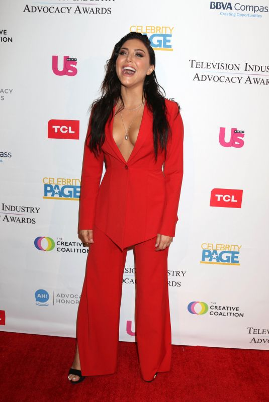 CASSIE SCERBO at Television Industry Advocacy Awards in Los Angeles 09/15/2018