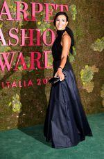 CATERINA BALVIO at Green Carpet Fashion Awards in Milan 09/23/2018