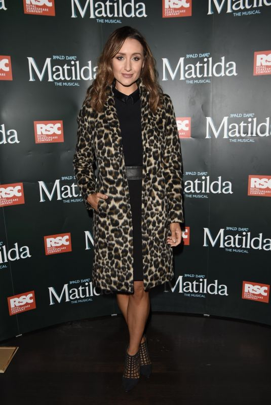 CATHERINE TYLDESLEY at Matilda Press Night in Manchester 09/20/2018