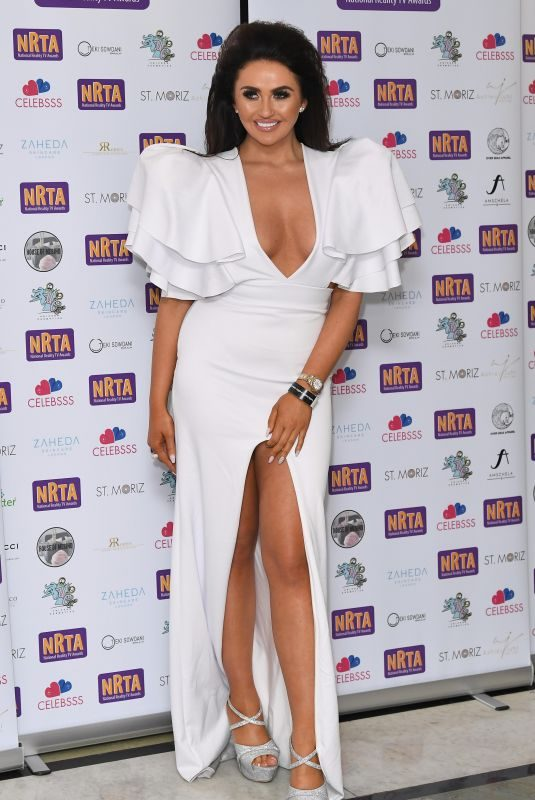 CHARLOTTE DAWSON at 2018 National Reality TV Awards in London 09/25/2018