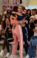 CHARLOTTE LAWRENCE at Hailey Baldwin x Adidas Show at London Fashion Week 09/17/2018