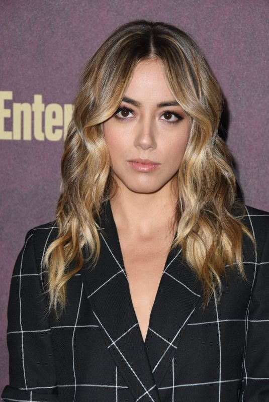 CHLOE BENNET at EW and L