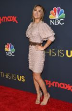 CHRISHELL STAUSE at This is Us, Season 3 Premiere in Los Angeles 09/25/2018