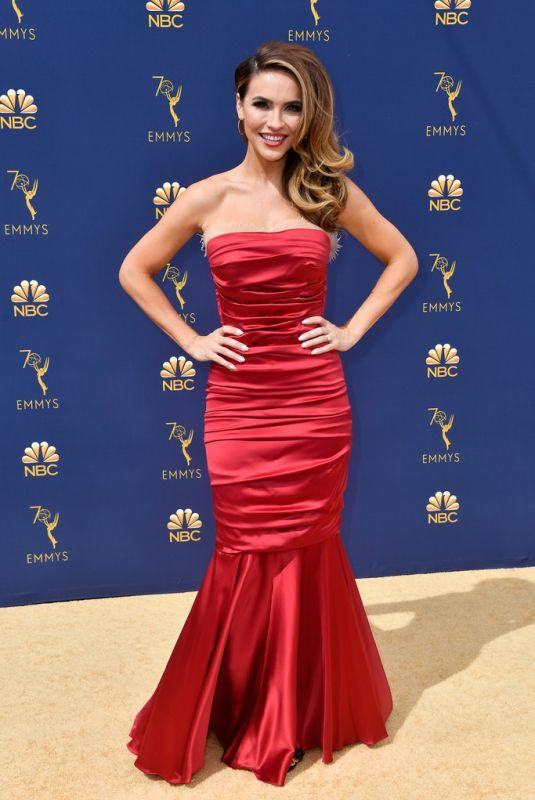 CHRISHELL STUASE at Emmy Awards 2018 in Los Angeles 09/17/2018