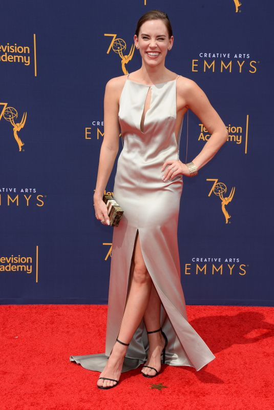 CHRISTA B. ALLEN at Creative Arts Emmy Awards in Los Angeles 09/08/2018
