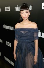 CHRISTIAN SERRATOS at The Walking Dead Premiere Party in Los Angeles 09/27/2018