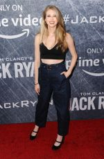 CHRISTINE RICCIO at Jack Ryan Premiere in Los Angeles 08/31/2018