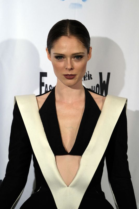 COCO ROCHA at Fashion Freak Show in Paris 09/28/2018