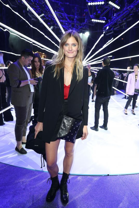 CONSTANCE JABLONSKI at Etam Show at Paris Fashion Week 09/25/2018