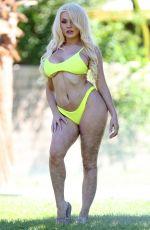 COURTNEY STODDEN in Bikini in Palm Springs 09/27/2018