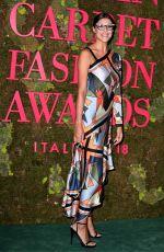 CRISTINA CHIABOTTO at Green Carpet Fashion Awards in Milan 09/23/2018