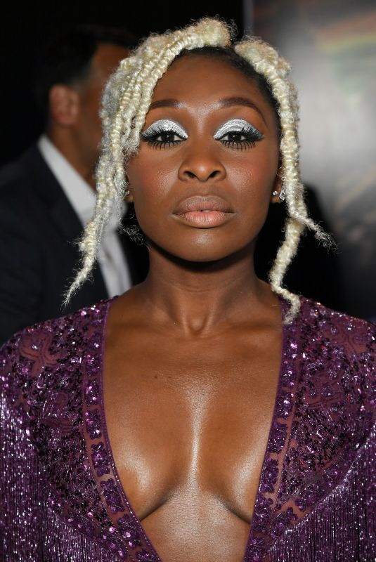 CYNTHIA ERIVO at Bad Times at the El Royale Premiere in Los Angeles 09/22/2018
