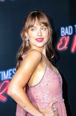 DAKOTA JOHNSON at Bad Times at the El Royale Premiere in Los Angeles 09/22/2018