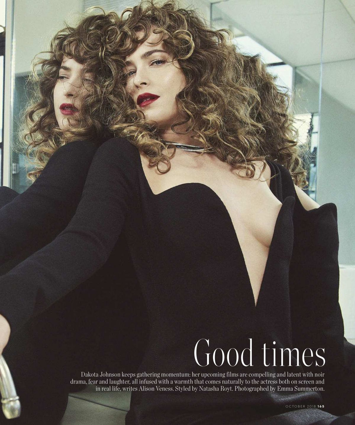Dakota Johnson In Vogue Magazine Australia October 2018 Hawtcelebs