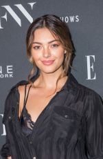 DEMI-LEIGH NEL-PETERS at E!, Elle and IMG Party in New York 09/05/2018