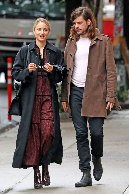 DIANNA AGRON and Winston Marshall Out in New York 09/26/2018