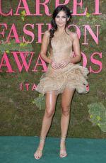 DOINA CIOBANU at Green Carpet Fashion Awards in Milan 09/23/2018