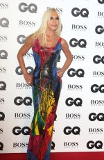 DONATELLA VERSACE at GQ Men of the Year 2018 Awards in London 09/05/2018