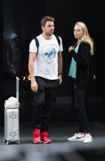 DONNA VEKIC at JFK Airport in New York 09/03/2018