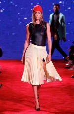 DOUTZEN KROES at Calvin Klein Runway Show at New York Fashion Week 09/11/2018
