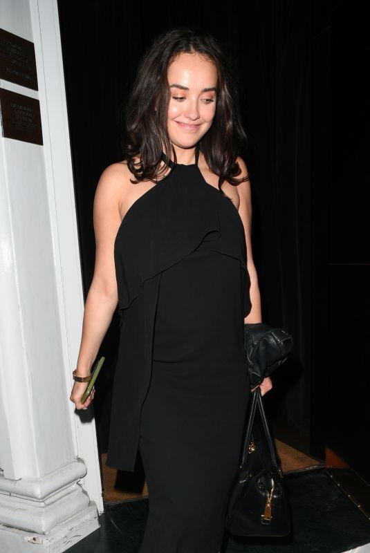 ELENA ORA Leaves Casa Cruz in London 09/26/2018