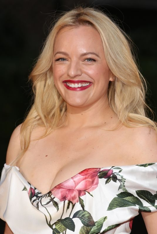ELISABETH MOSS at GQ Men of the Year 2018 Awards in London 09/05/2018