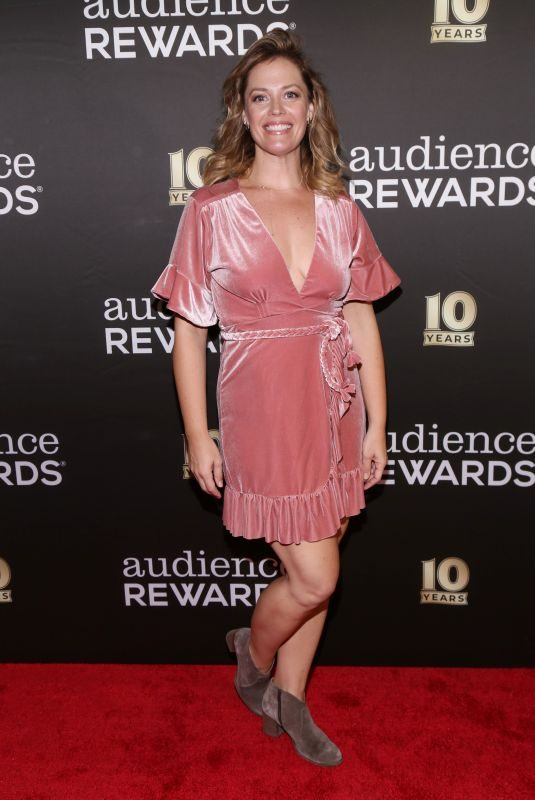 ELIZABETH STANLEY at Audience Rewards 10th Anniversary in New York 09/24/2018