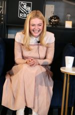 ELLE FANNING at Coffee with Creators at TIFF in toronto 09/08/2018