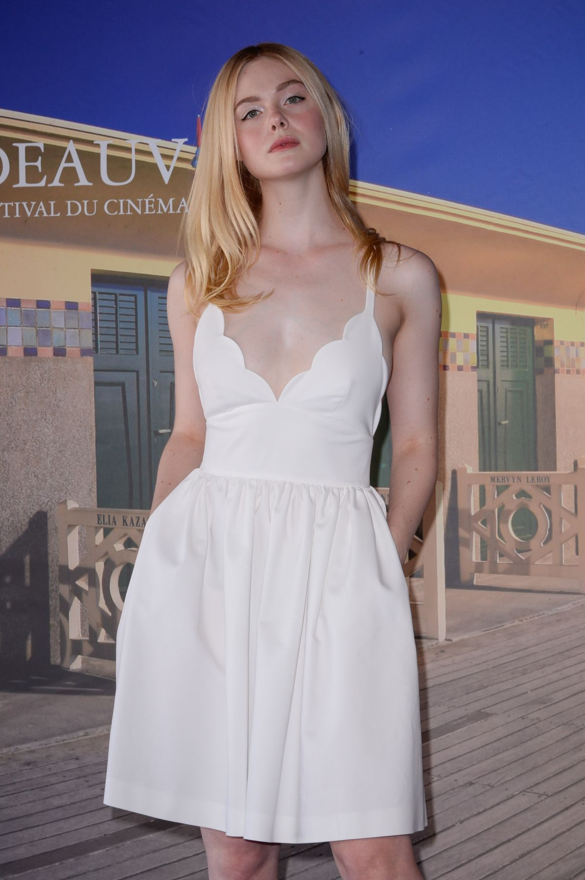 ELLE FANNING at Galveston Photocall at Deauville American ...