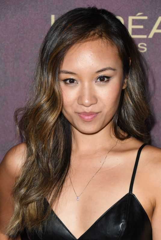 ELLE WONG at EW and L'Oreal Paris Pre-emmy Party in Hollywood 09/15/2018