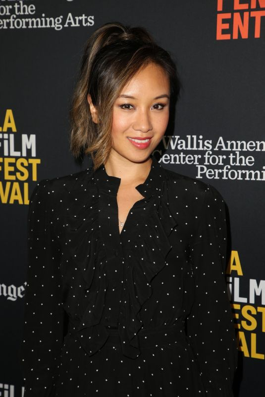 ELLEN WONG at All About Nina Premiere at LA Film Festival 09/23/2018