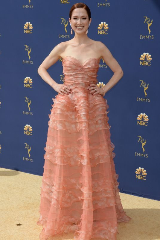 ELLIE KEMPER at Emmy Awards 2018 in Los Angeles 09/17/2018
