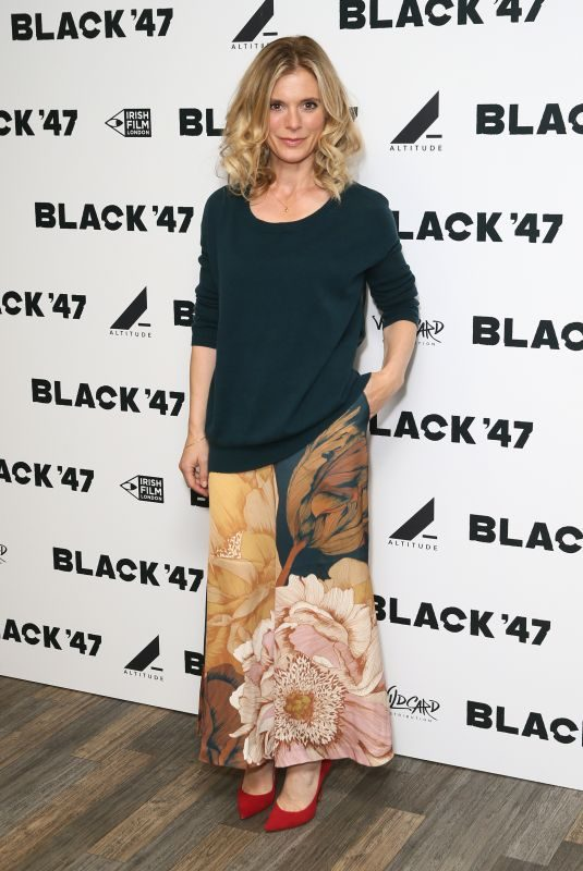 EMILIA FOX at Black '47 Special Screening in London 09/26/2018