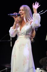 EMILY BROOKE Performs at MSD Country Strong Concert in Miami 09/21/2018
