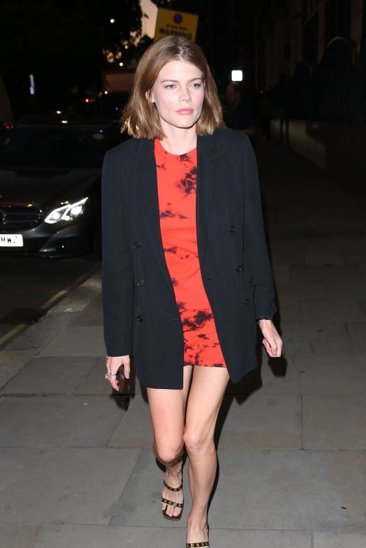 EMMA GREENWELL at 100 Years Season 2 Campaign Dinner in London 09/26/2018