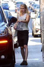 EMMA ROBERTS Pick Up Her Mail in Los Angeles 09/24/2018