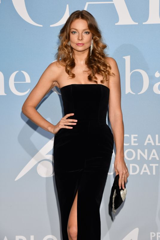 ENIKO MIHALIK at Gala for the Global Ocean in Monte Carlo 09/26/2018